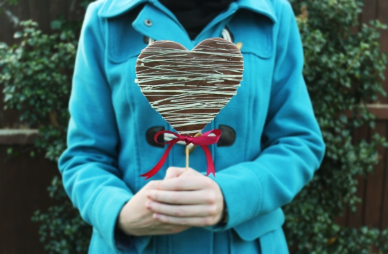 Valentine's Heart Lolly